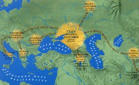 Преселение на прабългарите след разпада на Стара Велика България
