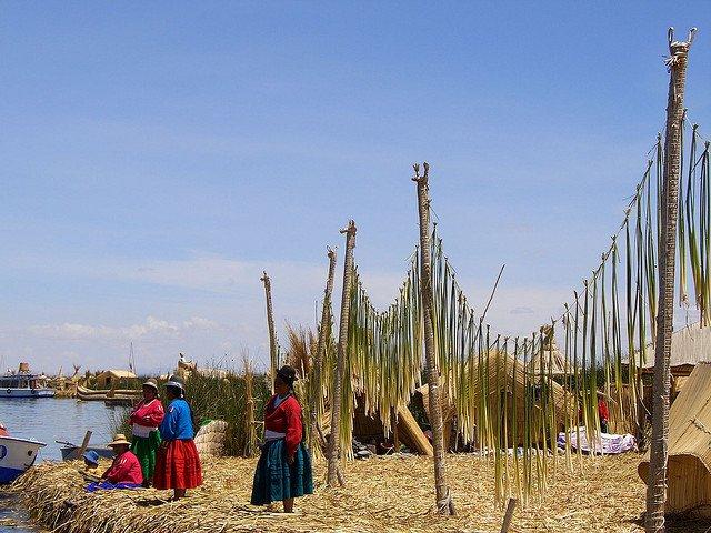 Местното племе Урос