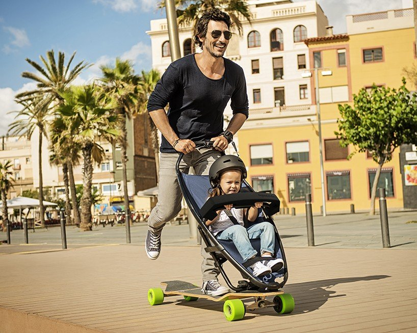 """""""Quinny Longboardstroller"""" – свеж подход към подвижността на градското семейство"""