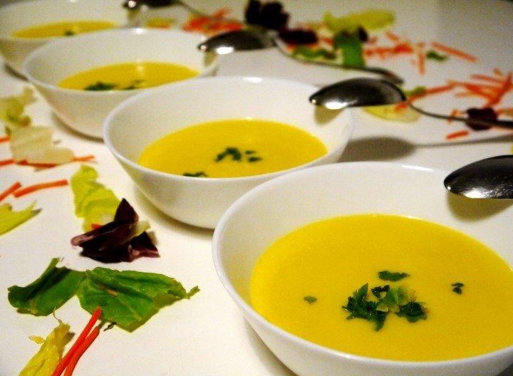 Крем супа от картофи и зеле