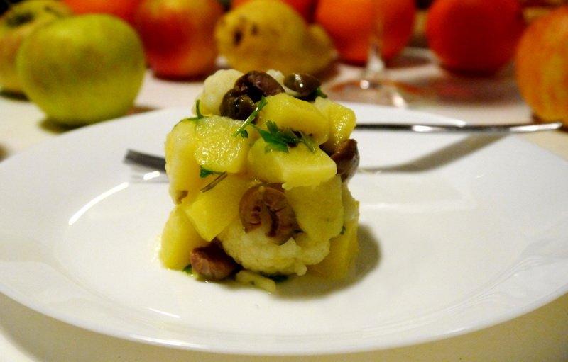 Картофена салата с карфиол