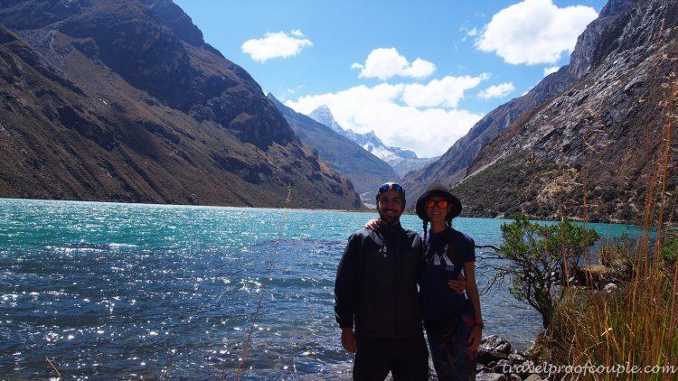 С Антон и Пламена по света: Насред облаците в Кордилера бланка